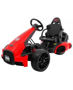 Elektrická motokára Bolid XR-1 červená